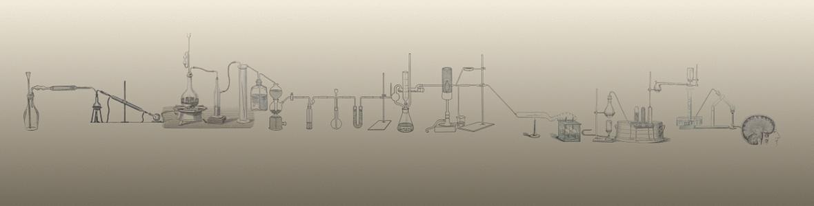 banner lab vintage