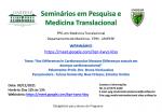WEBINÁRIO: 09/11/2021 - Seminário mensal do PPG